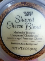 Shaved Cheese Blend