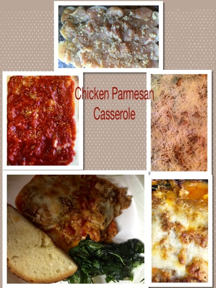 An Easy Tasty Weeknight Meal Chicken Parmesan Casserole