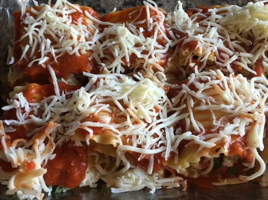 Before the Oven, Caprese Lasagna Roll Ups