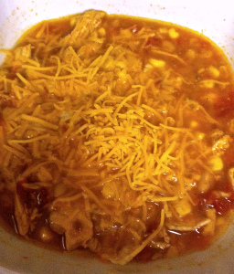 Super Crockpot Chicken Tortilla Soup
